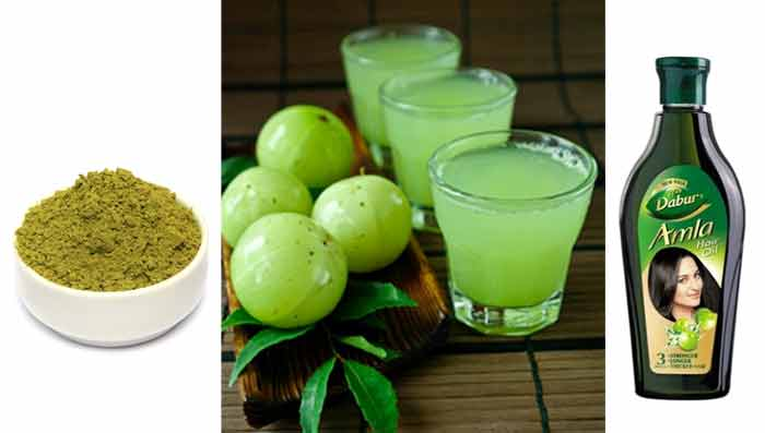 Henna & Amla Hair Mask for Hair Loss