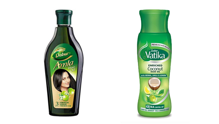 Dabur Amla & Vatika Enriched Coconut Oil for Thick, Long & Healthy Hair