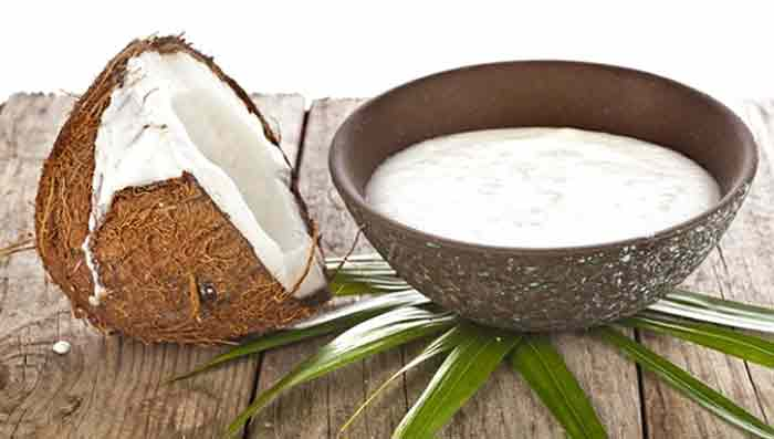 Coconut milk for Healthy Hair