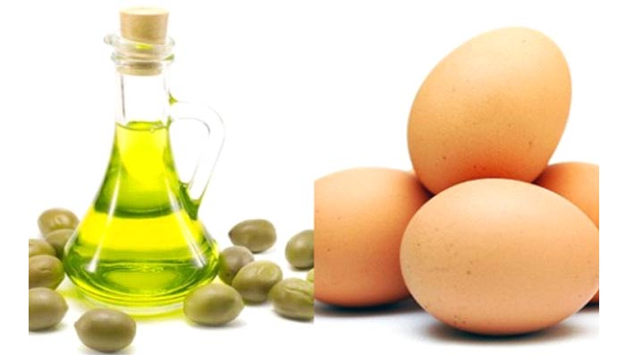 Egg & Olive Oil Hair Mask