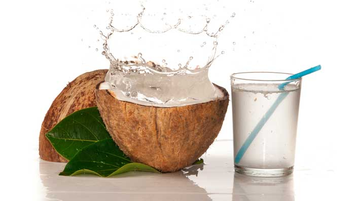 Coconut water for Brighten Skin Tone