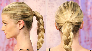 The Braided Ponytail