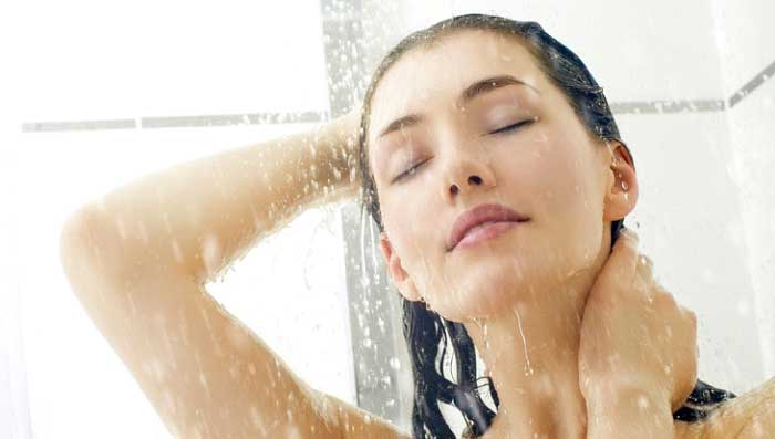Avoid Hot Shower Hair Bath