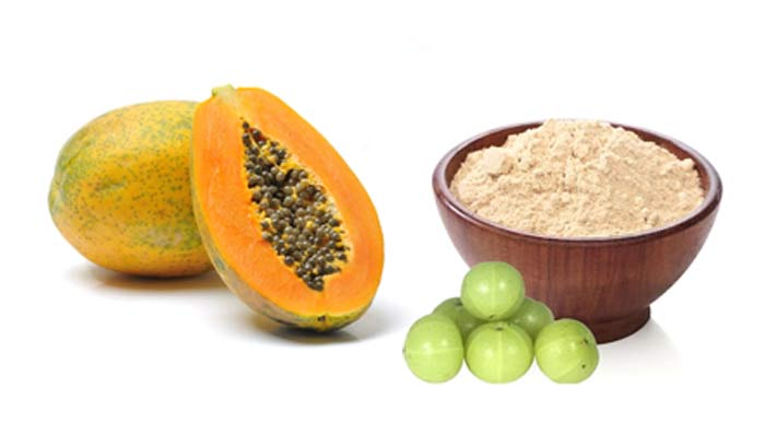 Papaya Amla Face Pack