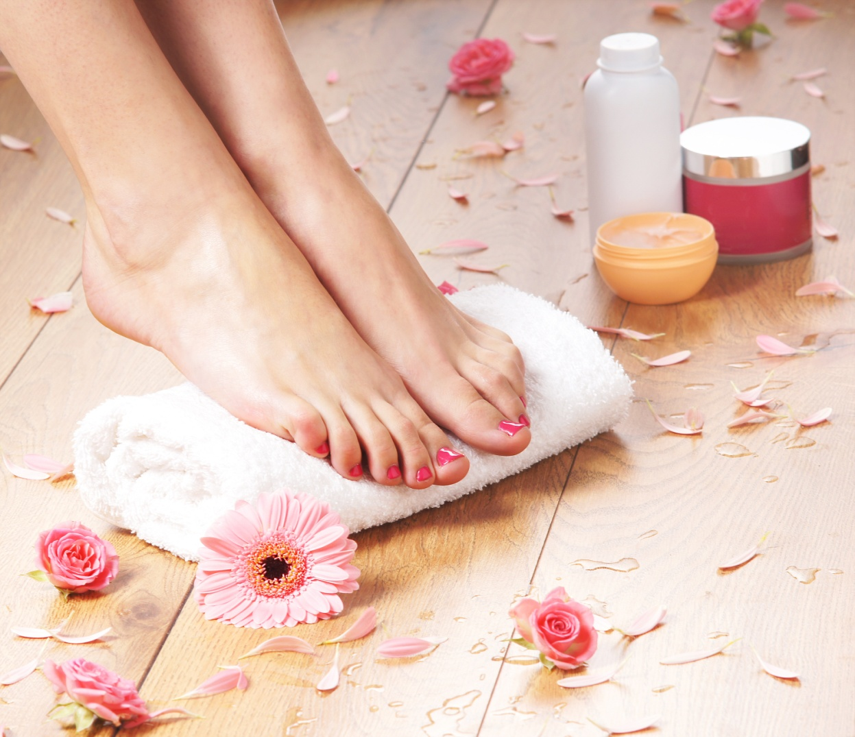 -how to do pedicure at home