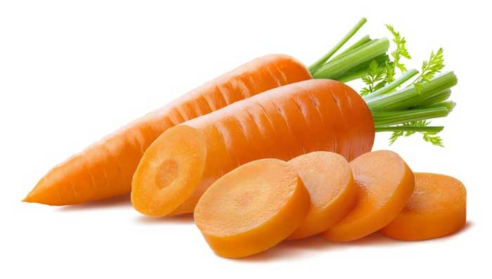 Carrot and castor oil for skin whitening face mask