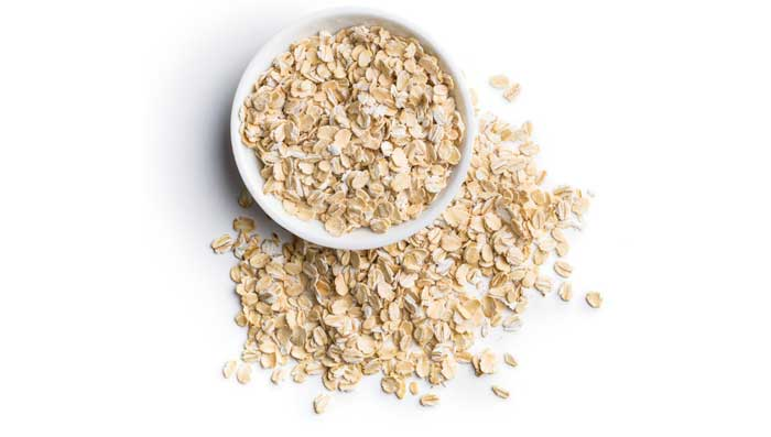 Oats and castor oil for skin whitening face mask