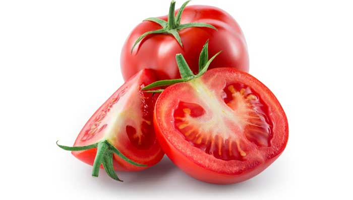 Tomato and castor oil for skin whitening face mask