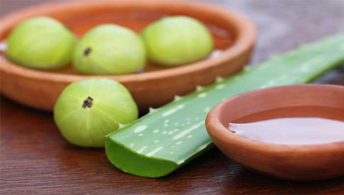 Amla mask for hair fall