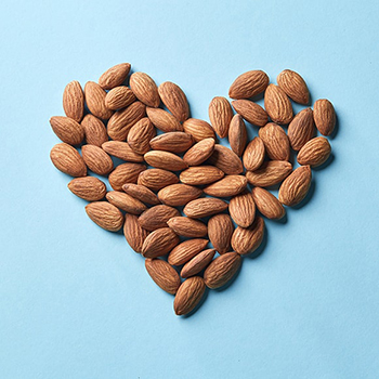 Almonds are the most nourishing nut