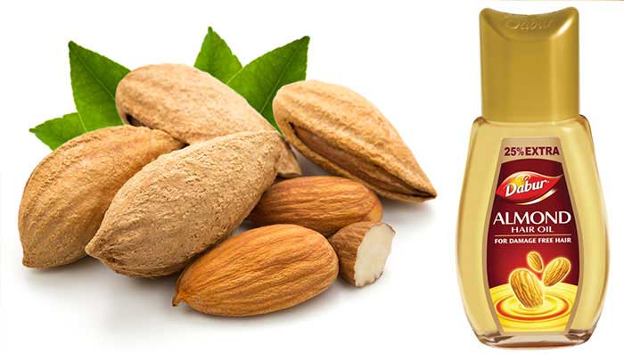 Almond Oil to Prevent Hair Fall