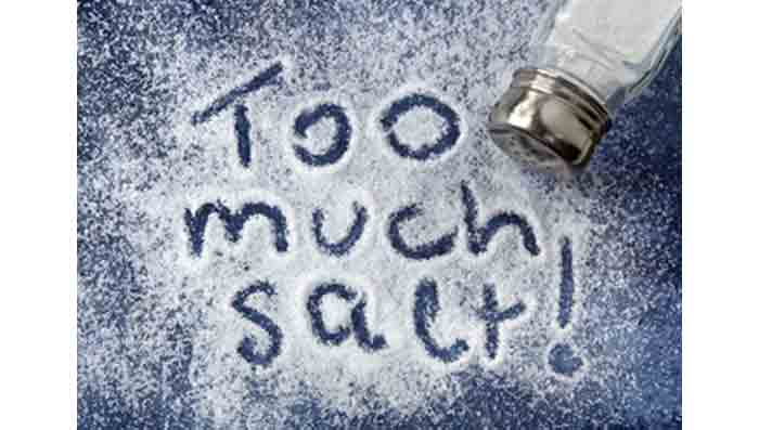 Avoid Excess of Salt for Glowing Skin