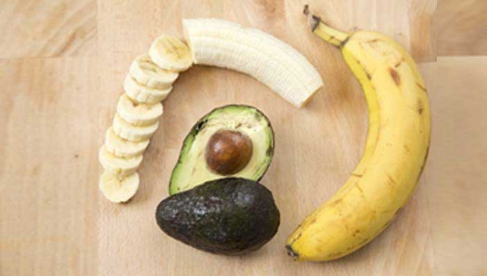 Banana & Avocado Hair Mask