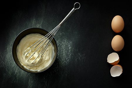 Egg and Curd for Hair