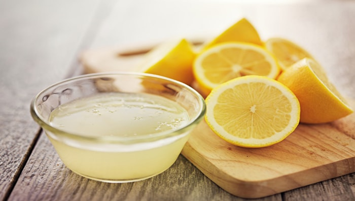 CURD AND LEMON MASK