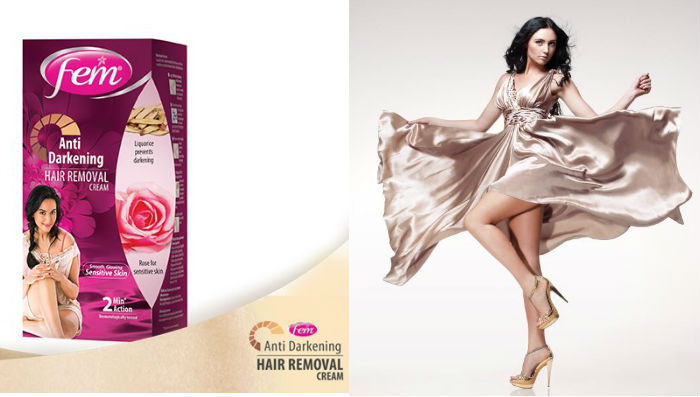 Fem Hair Removal Cream for Sensitive Skin