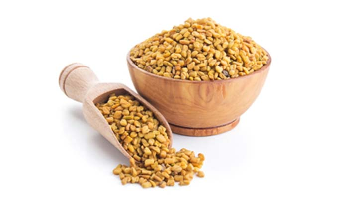 Fenugreek Seeds for Thicker Hair