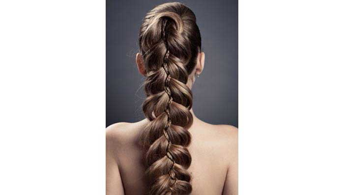Fish Tail Braid for Longer Thicker Hair