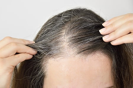 Brahmi Benefits for Split Ends and Grey Hair