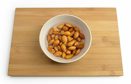 You can have almonds in any form