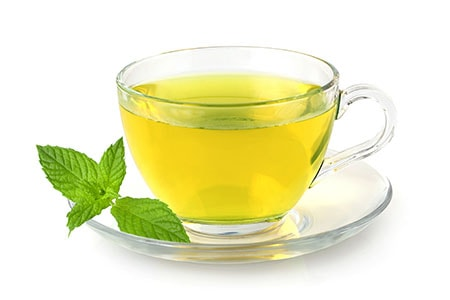 Green Tea for Temple Hair Loss