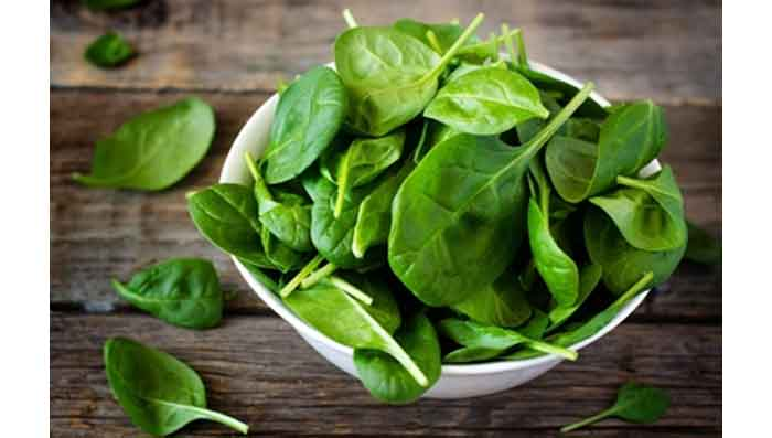 Have Spinach for Glowing Skin