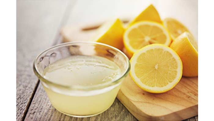 Lemon Juice for Dandruff