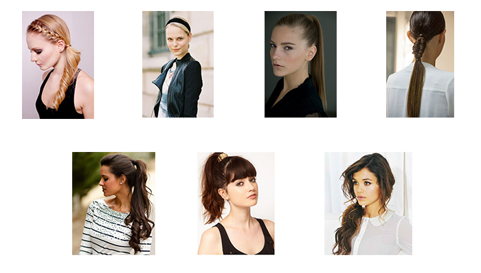 Pony Tail Hair Styles for Long And Medium Hair