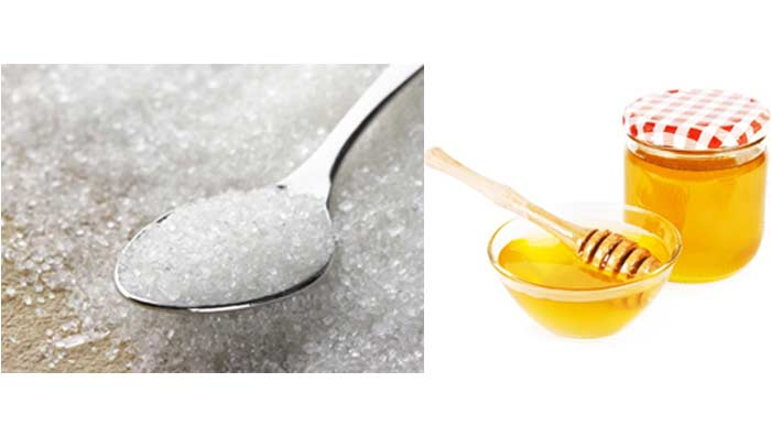 Sugar & Honey for Pimple Marks Removal
