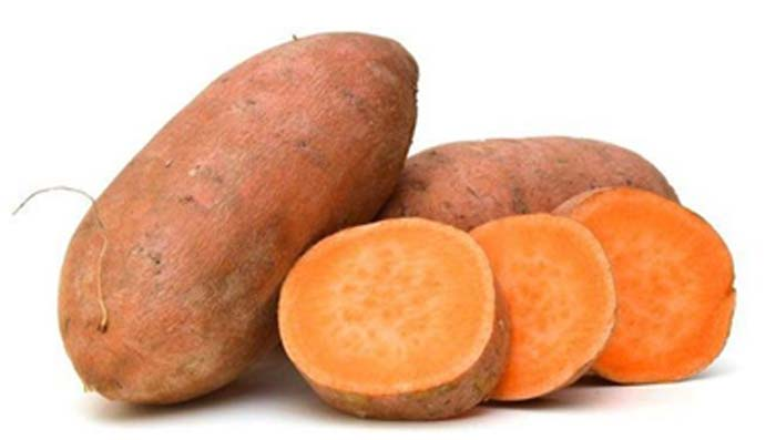 Sweet Potatoes for Glowing Skin