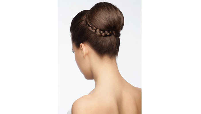 The Double Rope Braid Bun