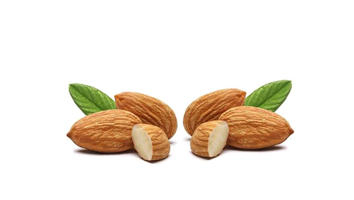 Almond face pack for overnight glowing skin