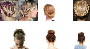 6 Pretty Updos Perfect for Hot Weather