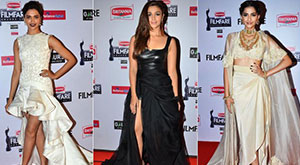 Celebrity Fashion Trends at the Filmfare Awards