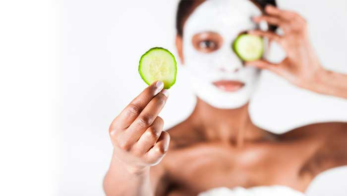 Cucumber Face Pack And Benefits For Skin