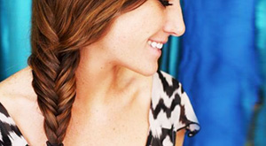 Summer Hairstyle Tutorial- The Fishtail Braid