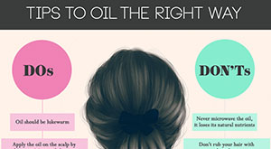 Tips to Oil Your Hair The Right Way