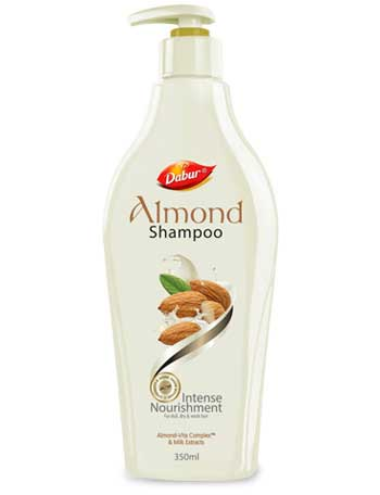 Almond nourishment now in a shampoo