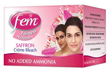 FEM Fairness Naturals Saffron Bleach
