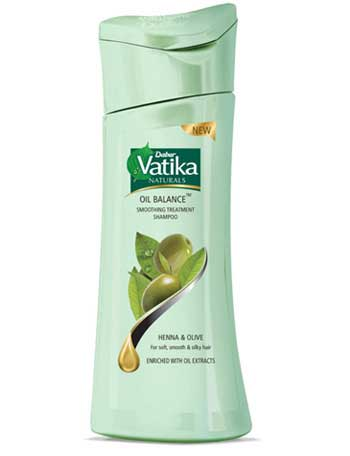 Vatika Smoothing Treatment Shampoo for Dry, Rough & Dull Hair