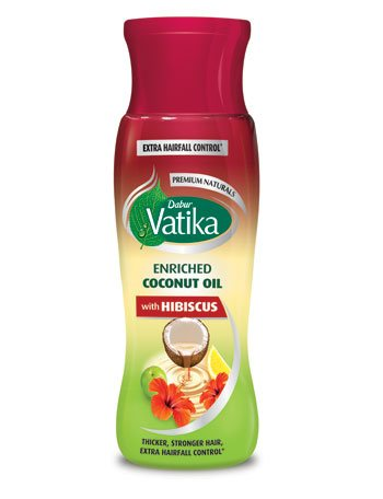 Vatika Enriched Coconut Oil with Hibiscus