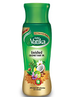 Vatika Coconut Enriched Oil